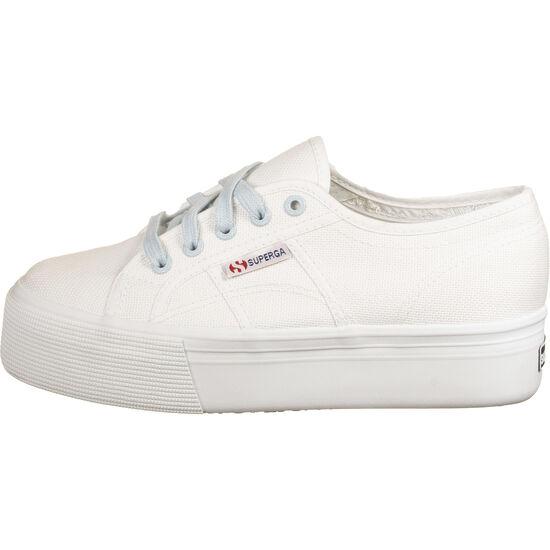 2790-COTW Contrast Sneaker Damen, weiß / hellblau, zoom bei OUTFITTER Online