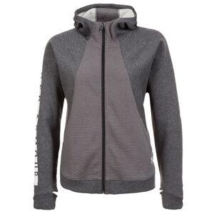 AllSeasonGear Better Europe Fleece Trainingskapuzenjacke Damen, Grau, zoom bei OUTFITTER Online
