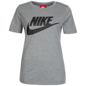 Essential T-Shirt Damen, grau / schwarz, zoom bei OUTFITTER Online