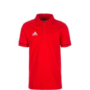 Tiro 17 Poloshirt Kinder, rot / schwarz / weiß, zoom bei OUTFITTER Online