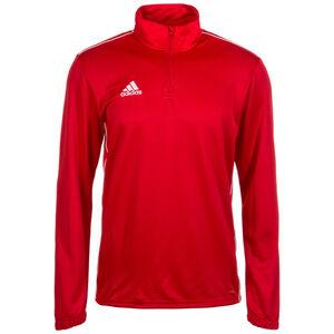 Core 18 Trainingsshirt Herren, rot / weiß, zoom bei OUTFITTER Online