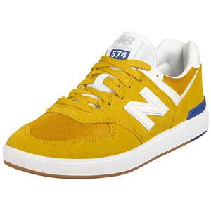 AM574 Sneaker Herren, gelb / weiß, zoom bei OUTFITTER Online