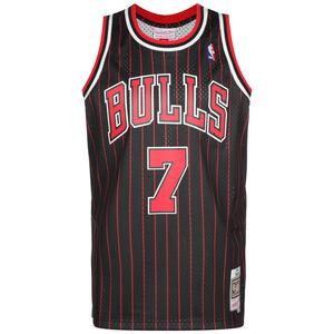 NBA Chicago Bulls Swingman #Toni Kukoc Basketballtrikot Herren, schwarz / rot, zoom bei OUTFITTER Online