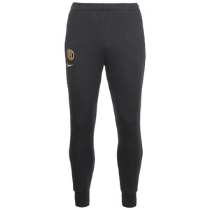 Inter Mailand Fleece Trainingshose Herren, schwarz / gold, zoom bei OUTFITTER Online