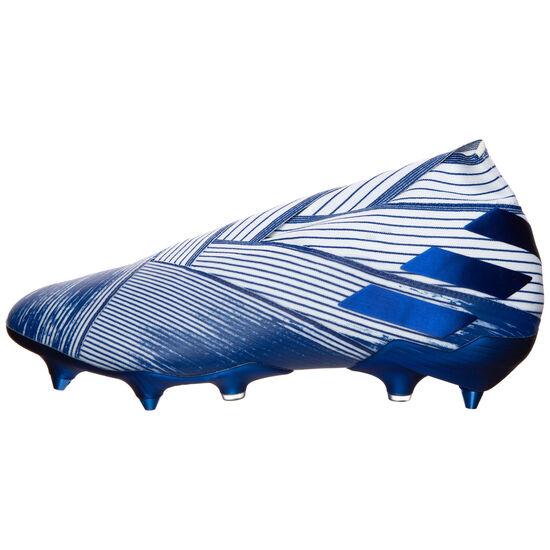 Nemeziz 19+ SG Fußballschuh Herren, weiß / blau, zoom bei OUTFITTER Online