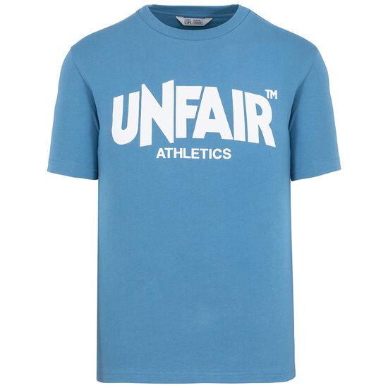 Unfair Classic Label T-Shirt Herren, blau / weiß, zoom bei OUTFITTER Online