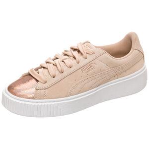 Suede Platform LunaLux Sneaker Damen, Grau, zoom bei OUTFITTER Online