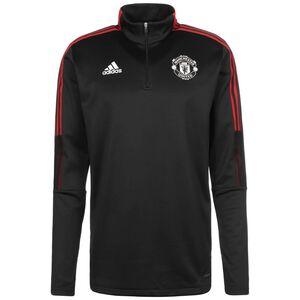 Manchester United Warm Trainingssweat Herren, schwarz / rot, zoom bei OUTFITTER Online
