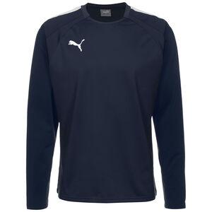 TeamLIGA Trainingssweat Herren, dunkelblau / weiß, zoom bei OUTFITTER Online