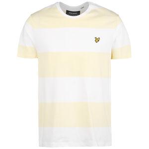 Wide Stripe T-Shirt Herren, gelb / weiß, zoom bei OUTFITTER Online