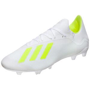X 18.3 FG Fußballschuh Herren, weiß / neongelb, zoom bei OUTFITTER Online