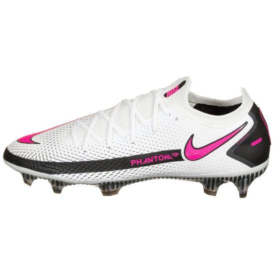 Phantom GT Elite FG Fußballschuh Herren, weiß / pink, zoom bei OUTFITTER Online