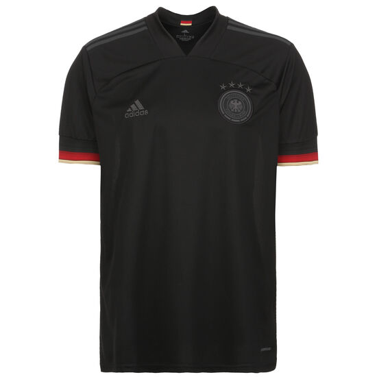 DFB Trikot Away EM 2021 Herren, schwarz / rot, zoom bei OUTFITTER Online