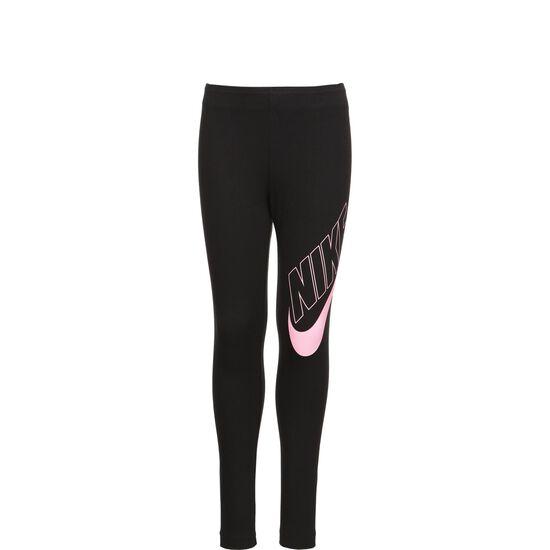 Favorites GS Leggings Kinder, schwarz / pink, zoom bei OUTFITTER Online