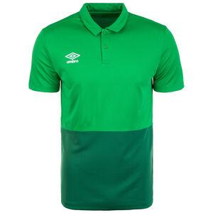 Poly Poloshirt Herren, grün / dunkelgrün, zoom bei OUTFITTER Online