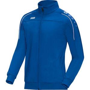 Classico Polyester Trainingsjacke Herren, blau / weiß, zoom bei OUTFITTER Online
