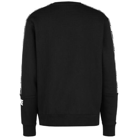 Repeat Fleece Crew Sweatshirt Herren, schwarz / weiß, zoom bei OUTFITTER Online