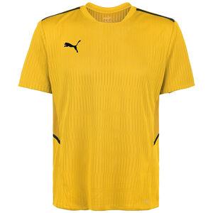 TeamCUP Fußballtrikot Herren, gelb / schwarz, zoom bei OUTFITTER Online