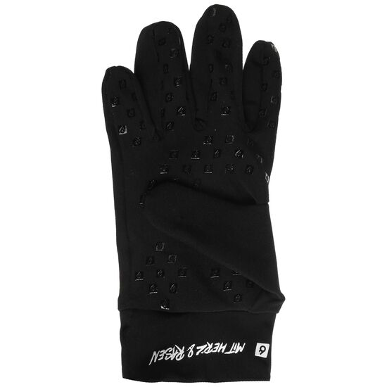 Feldspieler Handschuh, schwarz / weiß, zoom bei OUTFITTER Online