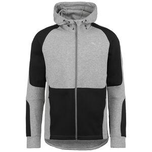 Evostripe Trainingsjacke Herren, grau / schwarz, zoom bei OUTFITTER Online
