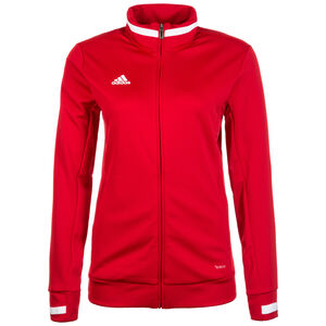 Team 19 Trainingsjacke Damen, rot / weiß, zoom bei OUTFITTER Online