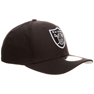 9FIFTY NFL Oakland Raiders Team Stretch Snapback Cap, schwarz / weiß, zoom bei OUTFITTER Online