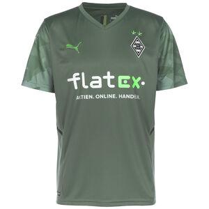 Borussia Mönchengladbach Trikot Away 2021/2022 Herren, grün / grau, zoom bei OUTFITTER Online