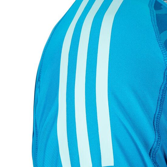 AdiPro 18 Torwarttrikot Herren, blau / türkis / weiß, zoom bei OUTFITTER Online