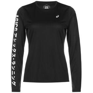 Katakana Laufshirt Damen, schwarz, zoom bei OUTFITTER Online