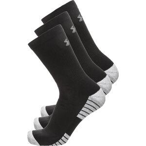 HeatGear Tech Crew Socken 3er Pack, Schwarz, zoom bei OUTFITTER Online
