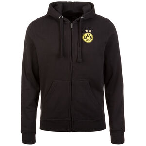 Borussia Dortmund Kapuzensweatjacke Herren, Schwarz, zoom bei OUTFITTER Online