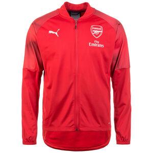 Arsenal London Stadium Trainingsjacke Herren, rot / dunkelblau, zoom bei OUTFITTER Online