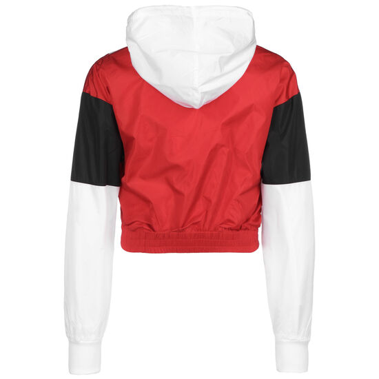 Authentic Race Clemy Kapuzenpullover Damen, weiß / rot, zoom bei OUTFITTER Online