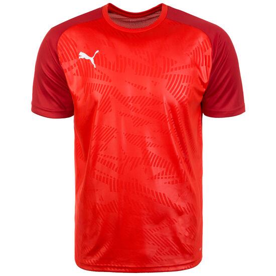 Cup Trainingsshirt Herren, rot / dunkelrot, zoom bei OUTFITTER Online