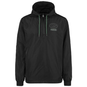 NFL Green Bay Packers Outline Logo Windbreaker Herren, schwarz / grün, zoom bei OUTFITTER Online