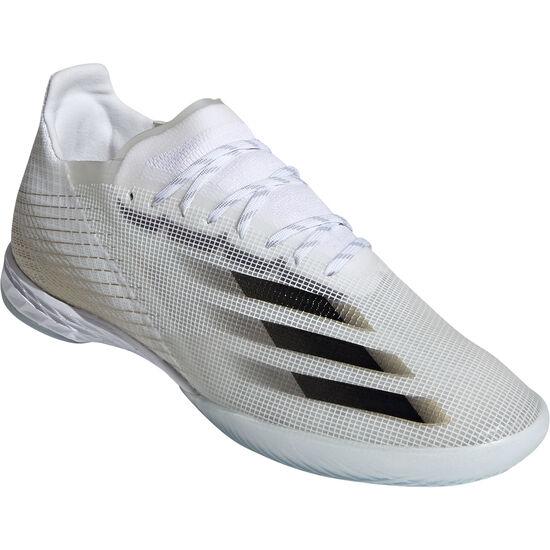 X Ghosted.1 Indoor Fußballschuh Herren, weiß / gold, zoom bei OUTFITTER Online