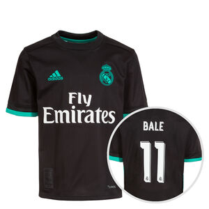 Real Madrid Trikot Away Bale 2017/2018 Kinder, Schwarz, zoom bei OUTFITTER Online