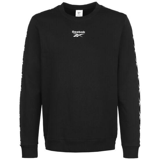 Essentials Tape Sweatshirt Herren, schwarz, zoom bei OUTFITTER Online