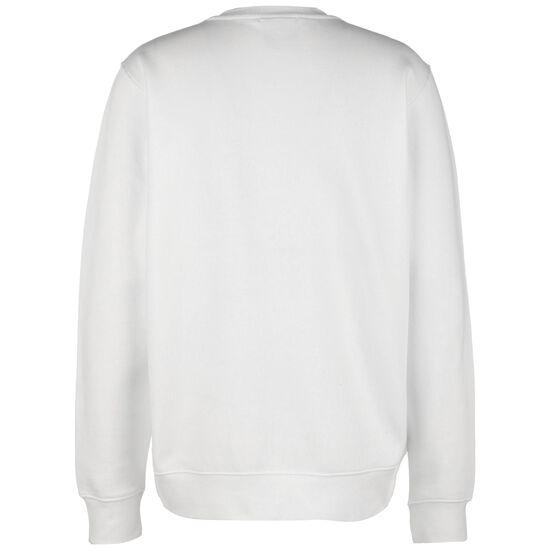JDI Fleece Crew Sweatshirt Herren, weiß / schwarz, zoom bei OUTFITTER Online