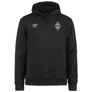 SV Werder Bremen Travel Overhead Kapuzenpullover Herren, schwarz, zoom bei OUTFITTER Online