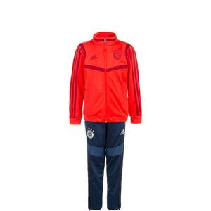 FC Bayern München PES Trainingsanzug Kinder, rot / blau, zoom bei OUTFITTER Online