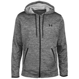 Fleece Trainingsjacke Herren, grau / schwarz, zoom bei OUTFITTER Online