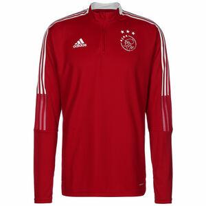 Ajax Amsterdam Trainingssweat Herren, rot / weiß, zoom bei OUTFITTER Online