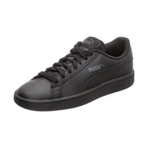 Smash v2 Leather Sneaker Kinder, Schwarz, zoom bei OUTFITTER Online
