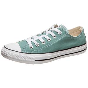 Chuck Taylor All Star OX Sneaker Damen, grün / weiß, zoom bei OUTFITTER Online