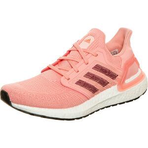 Ultraboost 20 Laufschuh Damen, neonrot / weinrot, zoom bei OUTFITTER Online