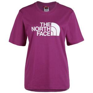 Boyfriend Easy T-Shirt Damen, pink / weiß, zoom bei OUTFITTER Online
