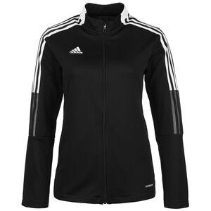 Tiro 21 Trainingsjacke Damen, schwarz / weiß, zoom bei OUTFITTER Online