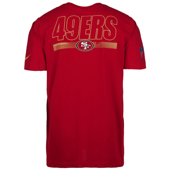 NFL Cotton Facility San Francisco 49ers T-Shirt Herren, rot, zoom bei OUTFITTER Online