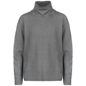 Dri-FIT Fleece Trainingslongsleeve Herren, grau / schwarz, zoom bei OUTFITTER Online